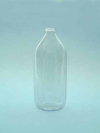 Infusion bottle 1 Liter, blank, height 29 cm and the diameter is 9 cm.