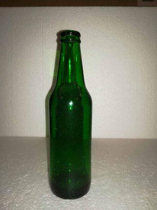 Heineken beer bottle, Green. 20.5 x 5.5 cm. Fragile!