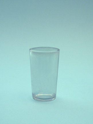 Schnapsglas of jeneverglaasje borrel -suikerglas 7,7 x 4,8 cm.