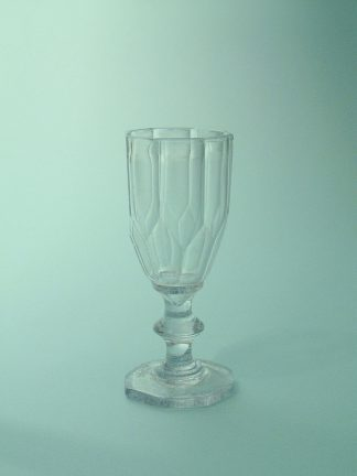 Fake glass, film glass or sugar glass Liqueur glass, Port glass, 11 x 4.8 cm