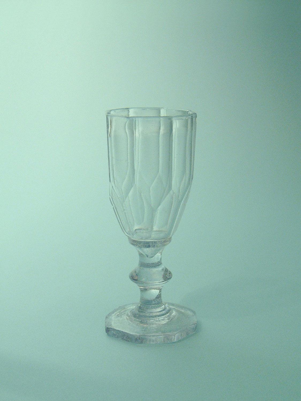 Fake glass, film glass or sugar glass Liqueur glass, Port glass, 11 x 4.8 cm