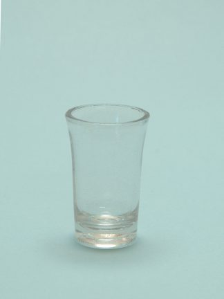 Sugar glass Gin glass 8.5 x 5.2 cm.
