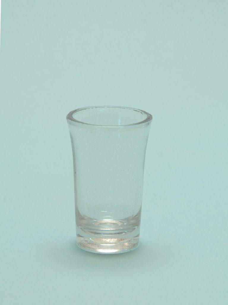 Sugar glass Gin glass 8.5 x 5.2 cm.