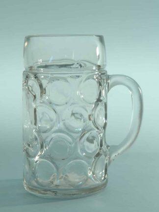 Vette suikerglas bierpul. Hoogte x breedte: 20,2 x ø 10,9 cm .