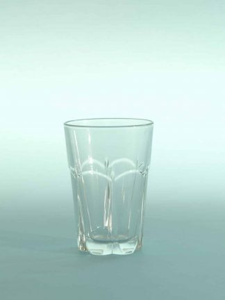 Sugar glass Juice or water glass, H * W is 10 x 7 cm.