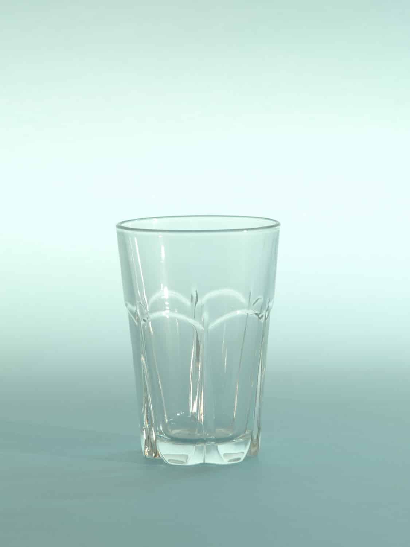Suikerglas Sap of waterglas, H*B is 10 x 7 cm.