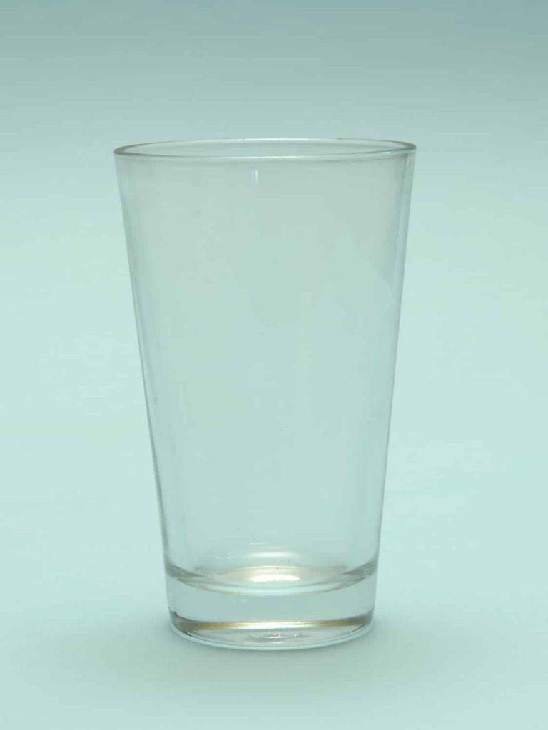 Film en video Bierglas 0,5 Liter. Afmetingen H*B is 16,8 x 10,3 cm.. Model: Old Straight Pint Glas