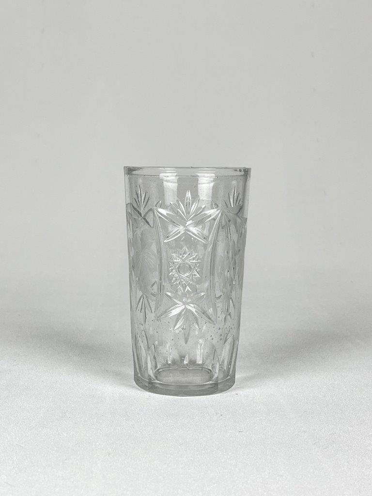 0149 Sapglas - longdrinkglas, geslepen.