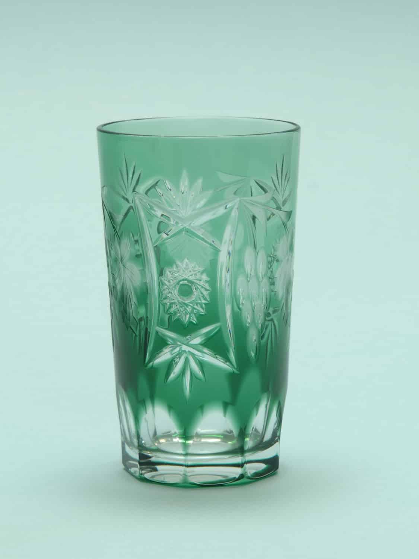 Blank! suikerglas sap of longdrinkglas. Sapglas-Longdrinkglas geslepen, (BLANK!)13 x 7,5 cm.