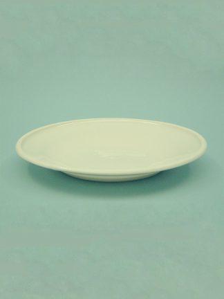 Bord voor op tafel gemaakt van suikerglas. 0200 – Tafel bord, 3 cm x ø 23 cm.