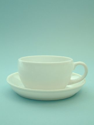 Sugar glass Coffee cup / teacup. Height x Width 6 x ø 10 cm. (Model 1)