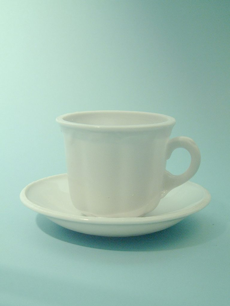 Suikerglas thee - koffiekopje. Model nummer 3!