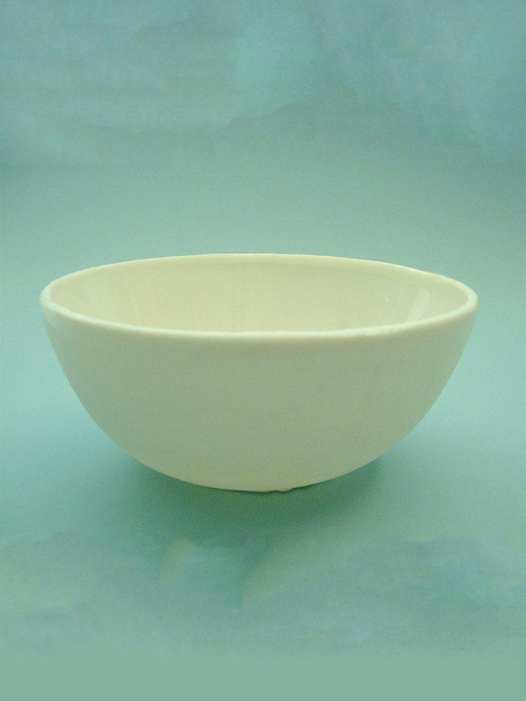 Sugar glass large porcelain bowl. Saucer, size 11.5 cm x ø 24.5 cm.