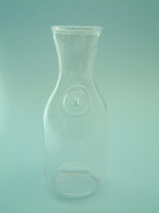 Film / video sugar glass. California carafe 1 liter, size: 24.5 x ø 10 cm.