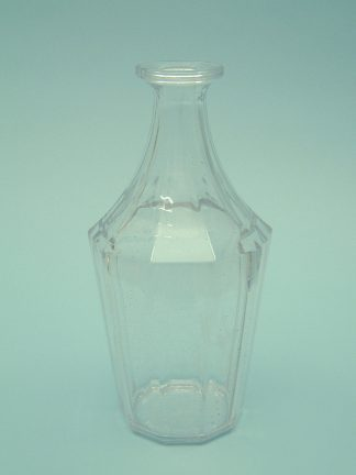 Sugar glass / film glass 10 angular carafe with the dimensions: 25.5 (30.5) cm x ø12cm.jpg