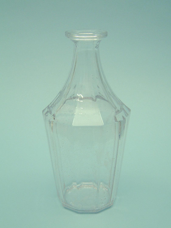 Suikerglas / filmglas 10 hoekige karaf met de afmetingen:25,5(30,5)cm x ø12cm.jpg