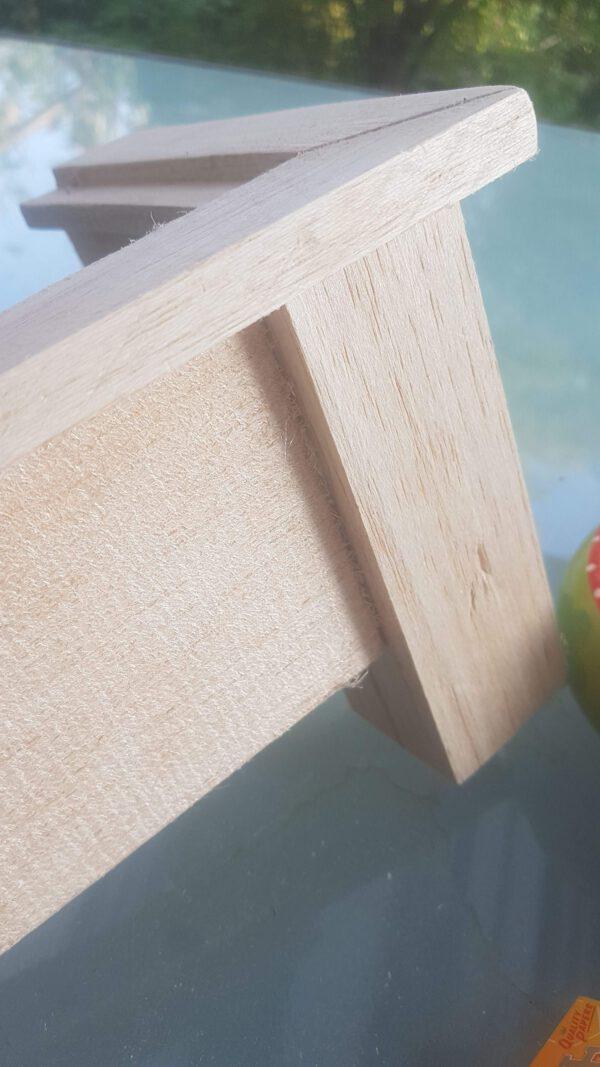 Balsa wood furniture