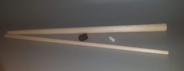 Pool cue - Billiard cue made of balsa wood