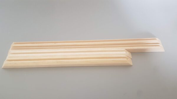Frame van balsahout voor suikerglas ruiten