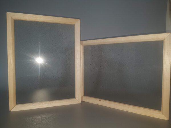 Balshout frame na ombouw. Makkelijk stapelbaar