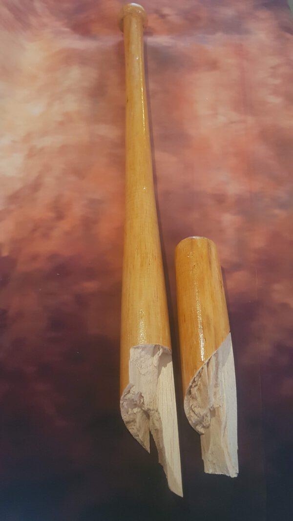 Balsahout honkbalknuppel
