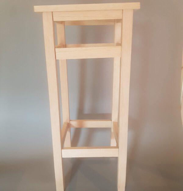 Bar crutch (IKEA Model) made of balsa wood