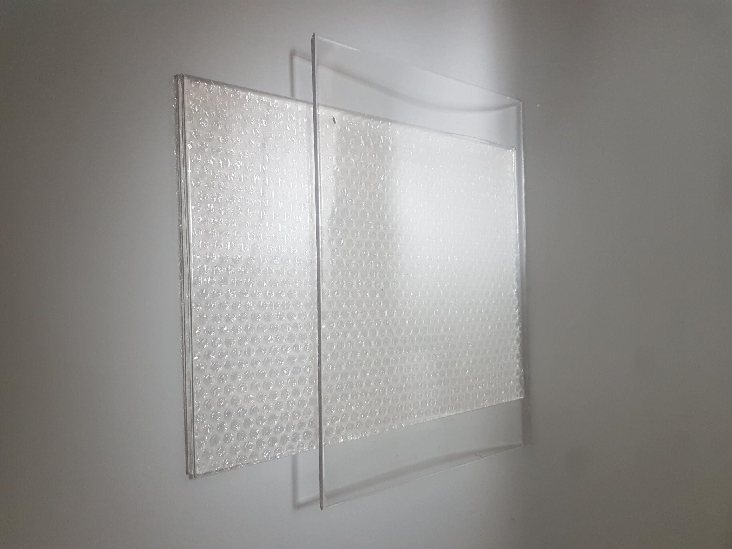 Window made of sugar glass