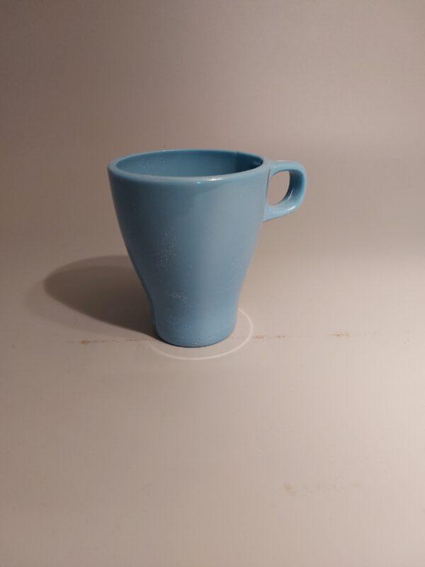 Koffie of thee mok van suikerglas.