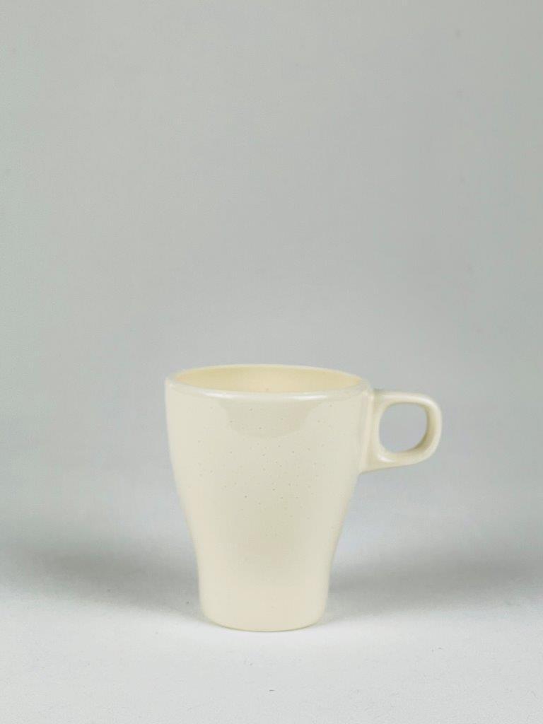 Theebeker of Theemok van wit suikerglas
